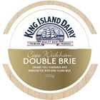 Picture of KING ISLAND DAIRY CAPE WICKHAM DOUBLE BRIE 200g