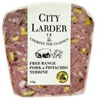 Picture of CITY LARDER FREE RANGE PORK & PISTACHIO TERRINE 150g